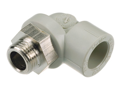 Sanitas Adaptor Elbow 90° - Male