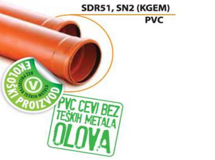 Ekologická rúra SDR 51, SN2 (PVC)