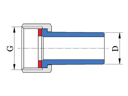 Hrdlo s maticou kovovou
