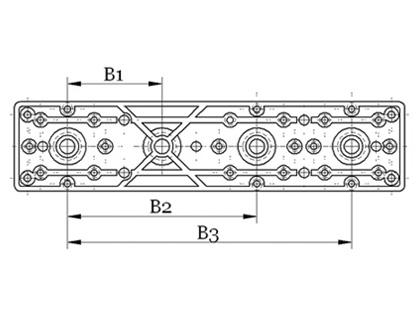 Montážny prvok pre nástenky