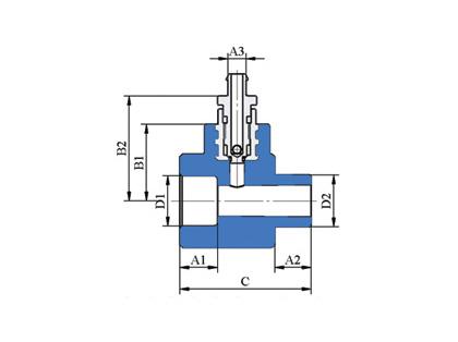 Nátrubok s vypúšťacím ventilom