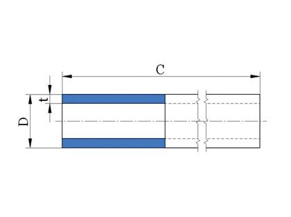 Pipe in coil S5 (PN 10)
